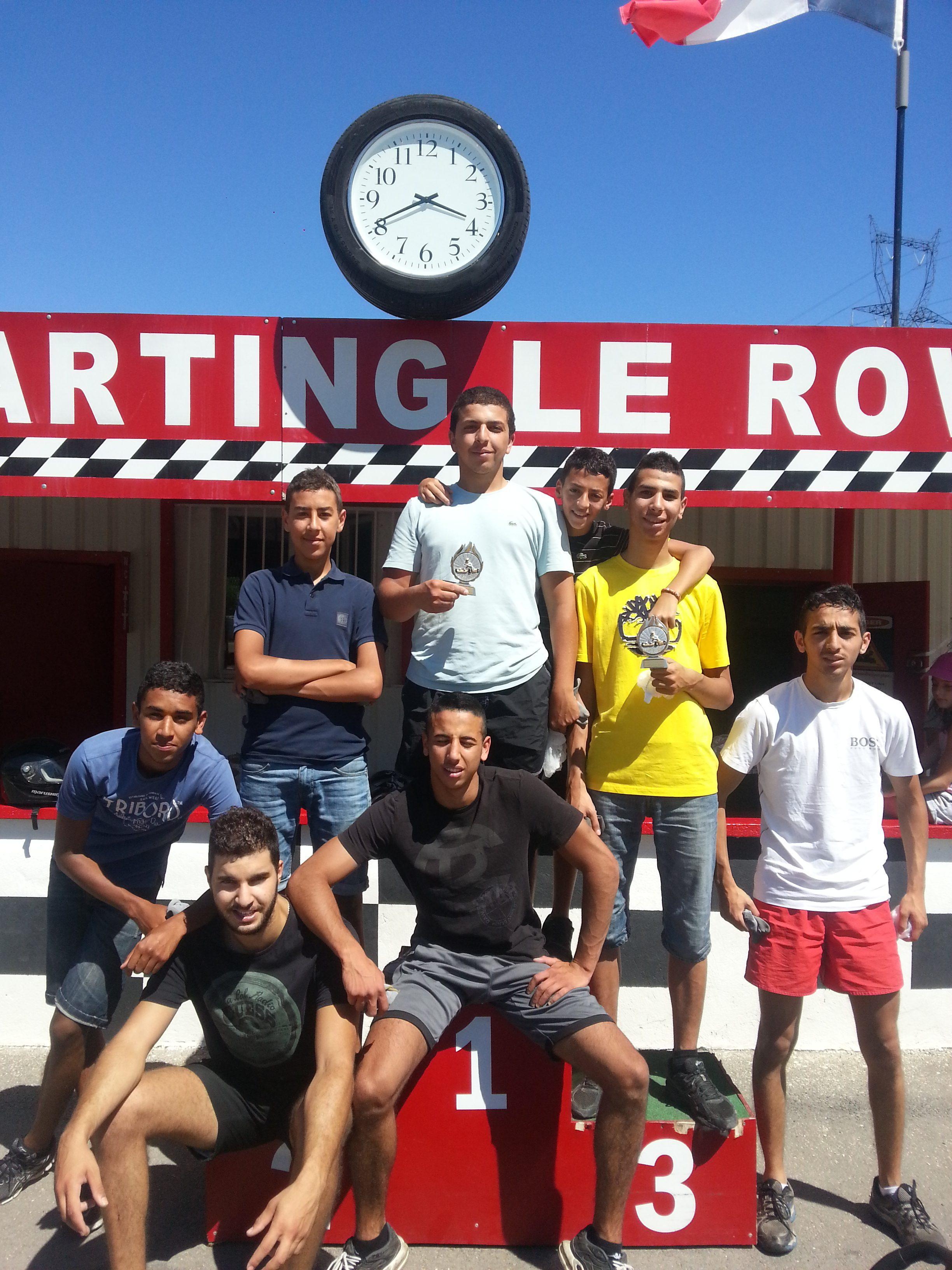 Jeunes 15-18 ans - sortie karting au Rove